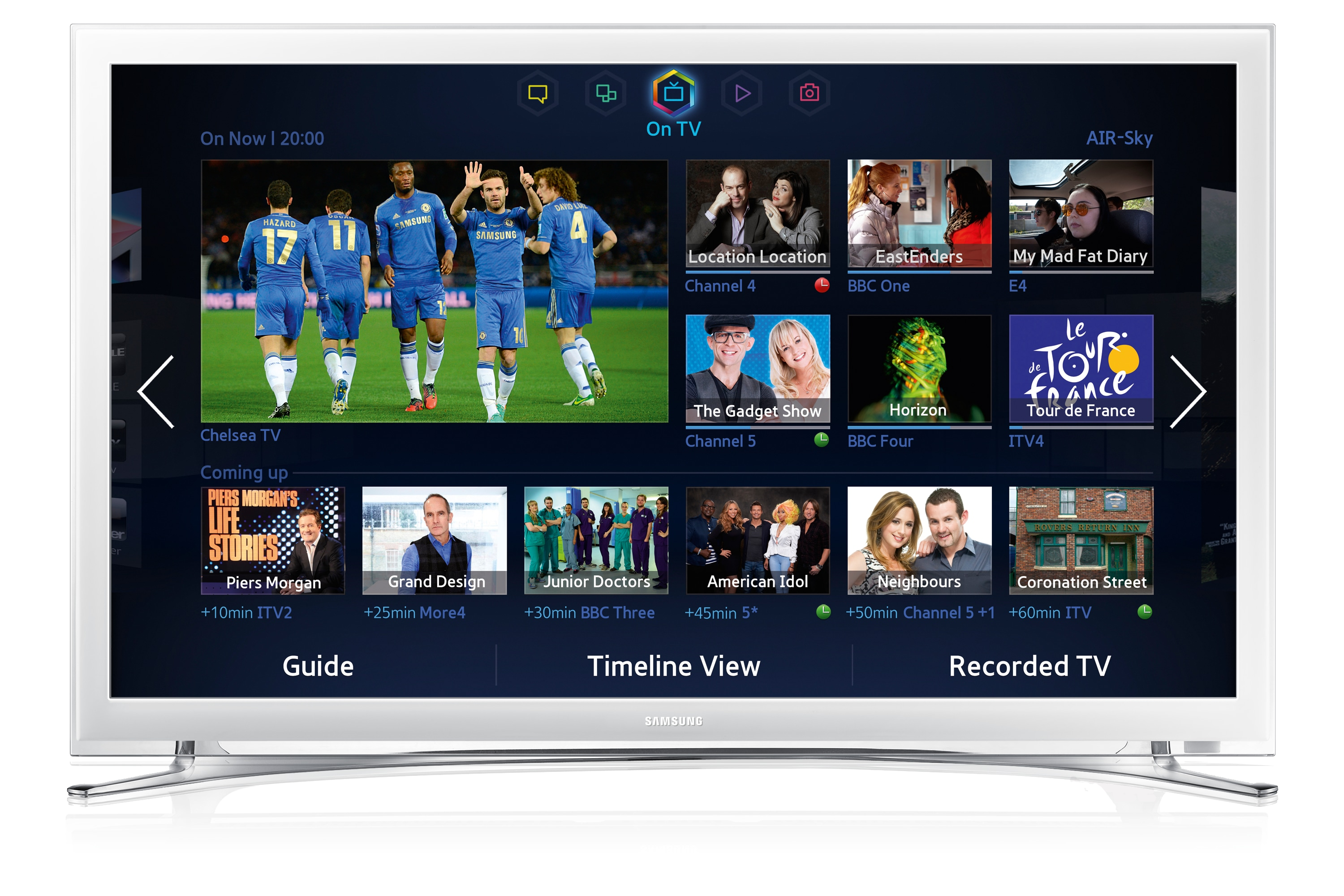 See what's new in samsung's 2017 tizen smart tvs flatpanelshd.