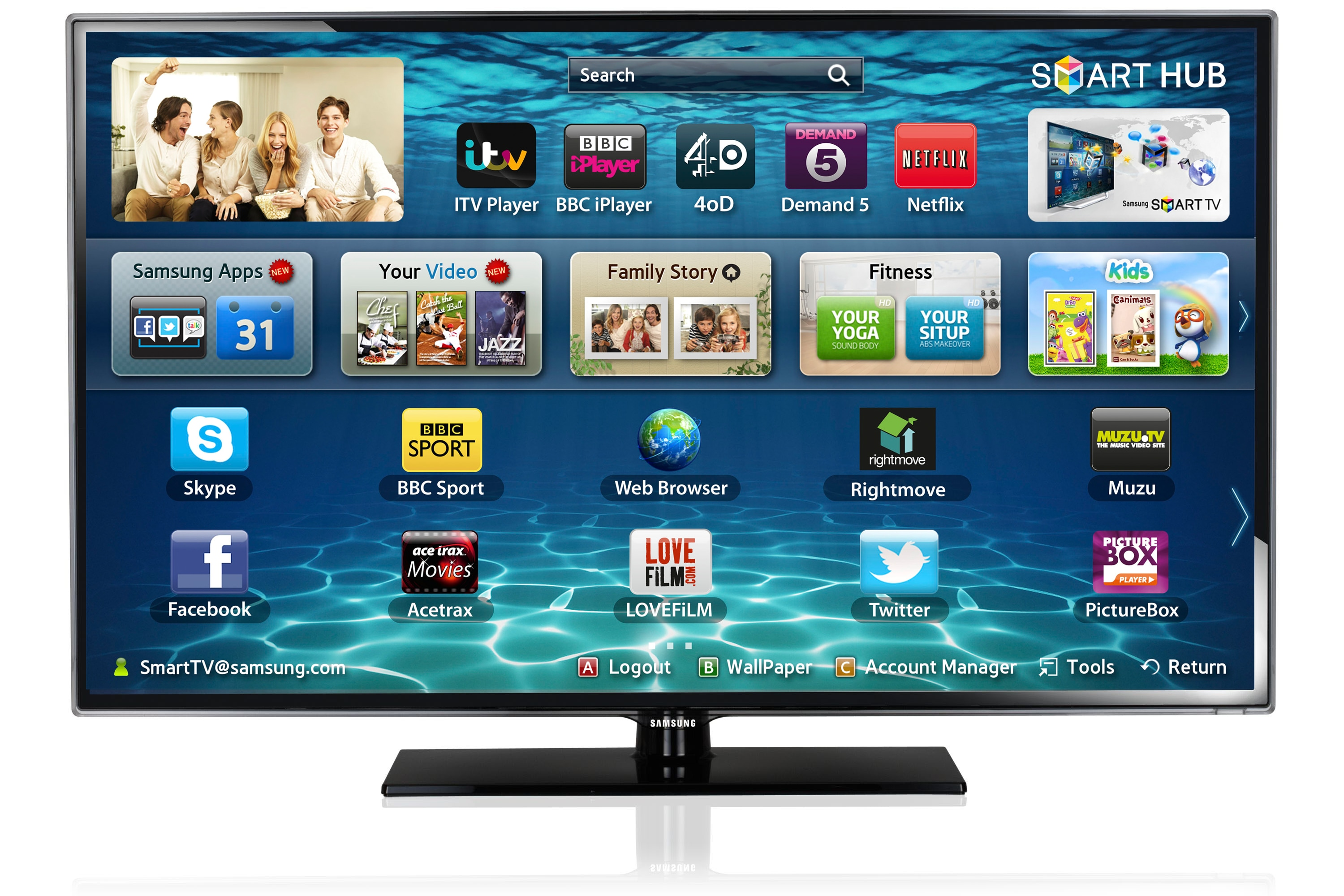 "40"" ES5500 Series 5 SMART Full HD LED TV"