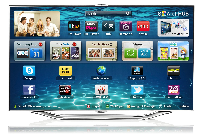 """40"""" ES8000 Series 8 SMART 3D Full HDLED TV"""