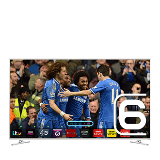 "UE55H6410SU 55"" H6410 Series 6 Smart 3D Full HD LED TV"