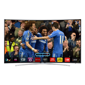 "UE55H8000ST 55"" Series 8 Smart 3D Curved Full HD LED TV"