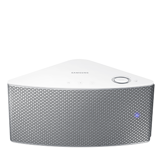 WAM351 M3 Small Wireless Audio Multiroom Speaker (White) Front