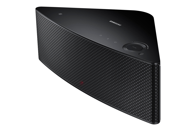 WAM550 M5 Medium Wireless Audio Multiroom Speaker (Black) R Side perspective