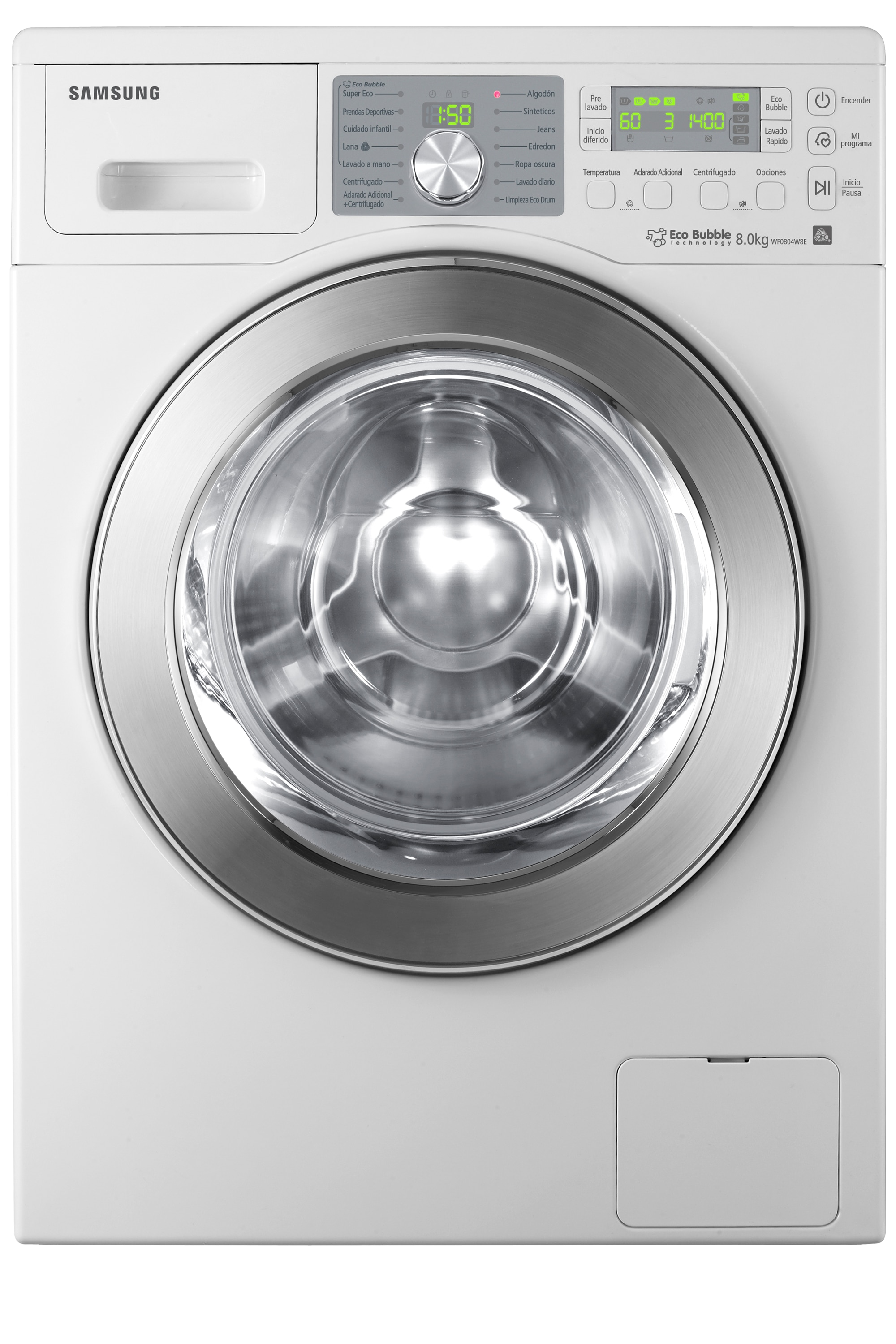 WF0804W8E 8kg 1400rpm Ecobubble Washing Machine
