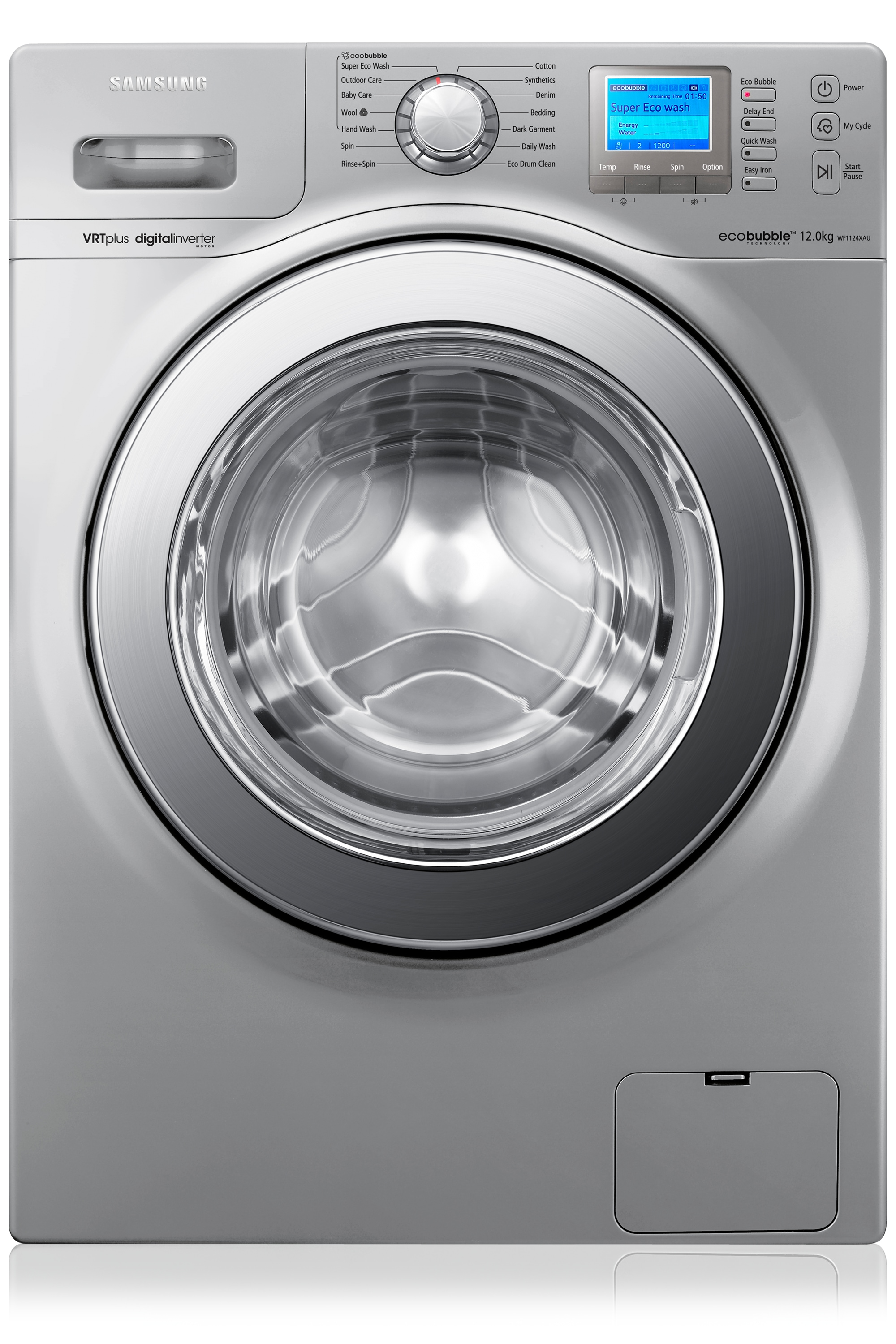 Wf1124xauxeu 1400rpm Ecobubble Vrt Washing Machine