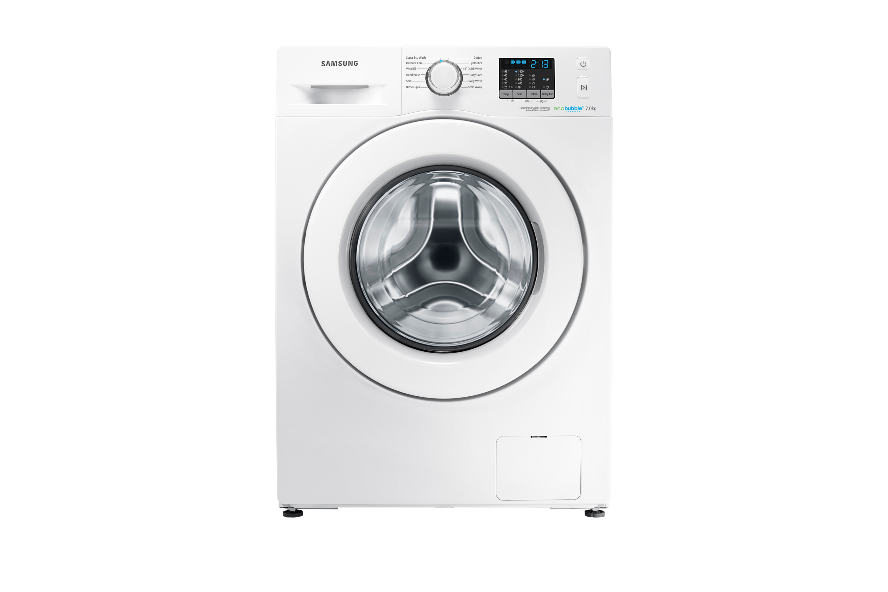 WF70F5E0W4W 7kg 1400rpm ecobubble Washing Machine