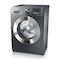 WF70F5E2W2X/EU 7kg 1200rpm ecobubble™ Washing Machine Right Perspective Gray