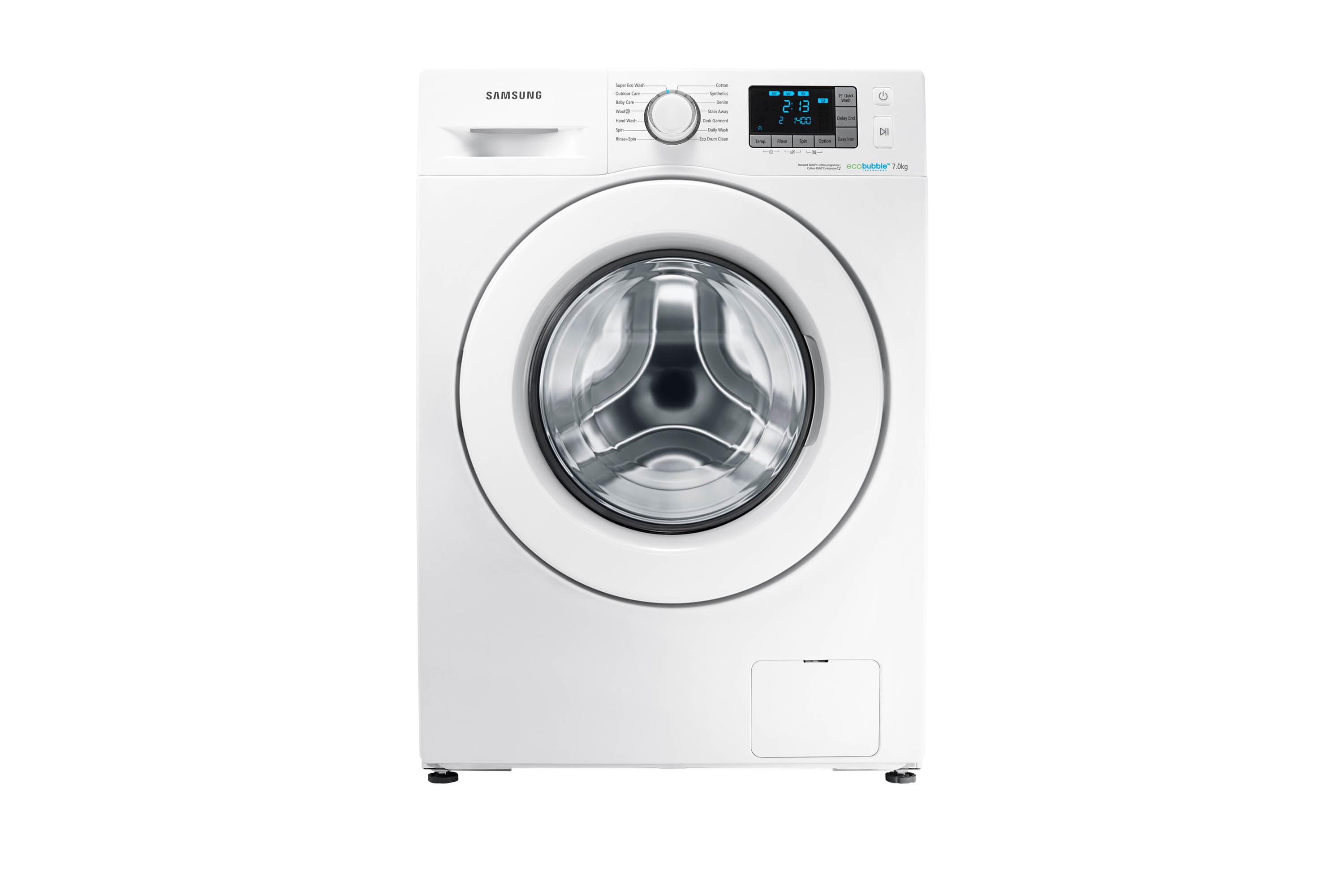 F500 Washing Machine with ecobubble, 7 kg
