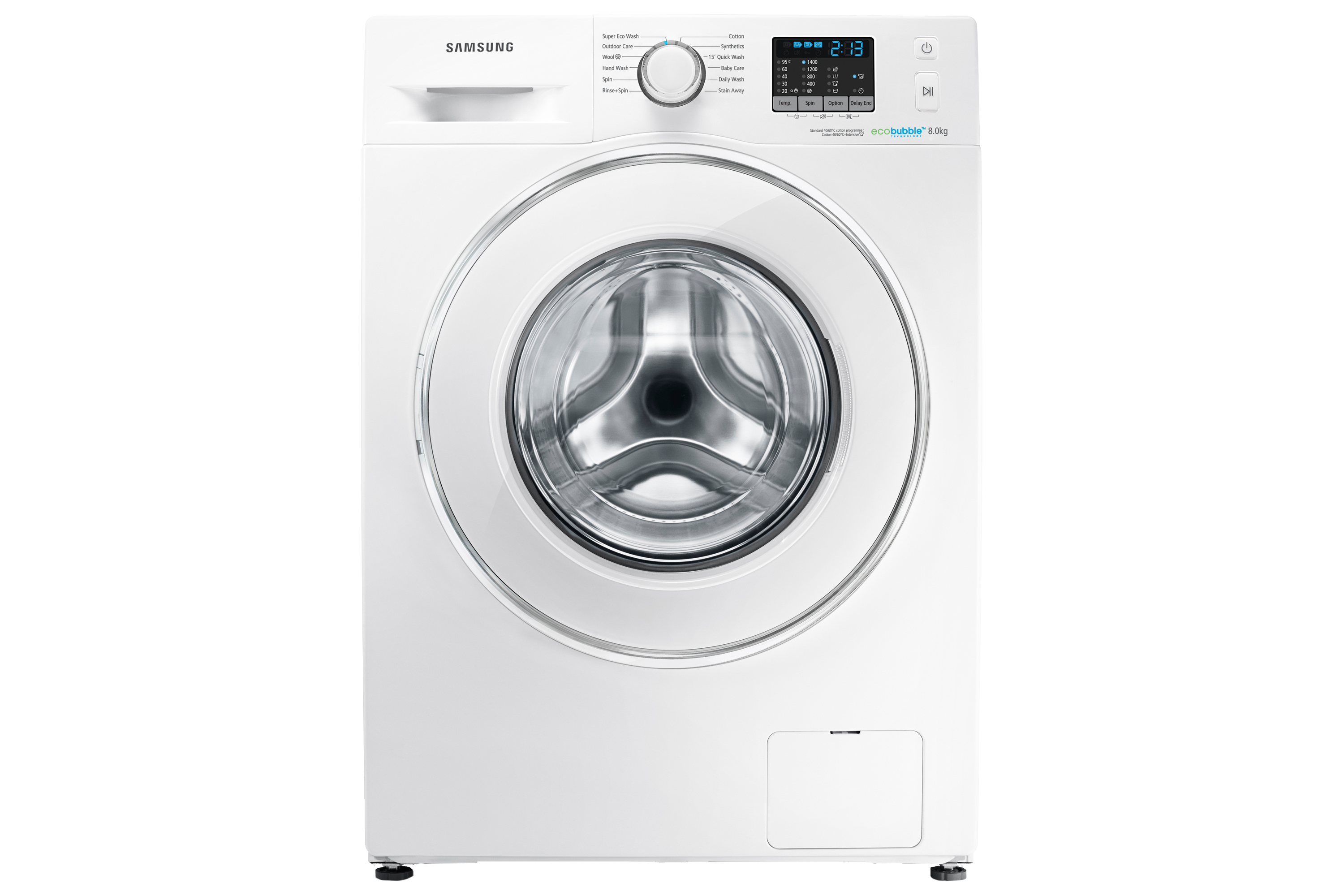 WF80F5E0W4W 8kg 1400rpm ecobubble™ Washing Machine