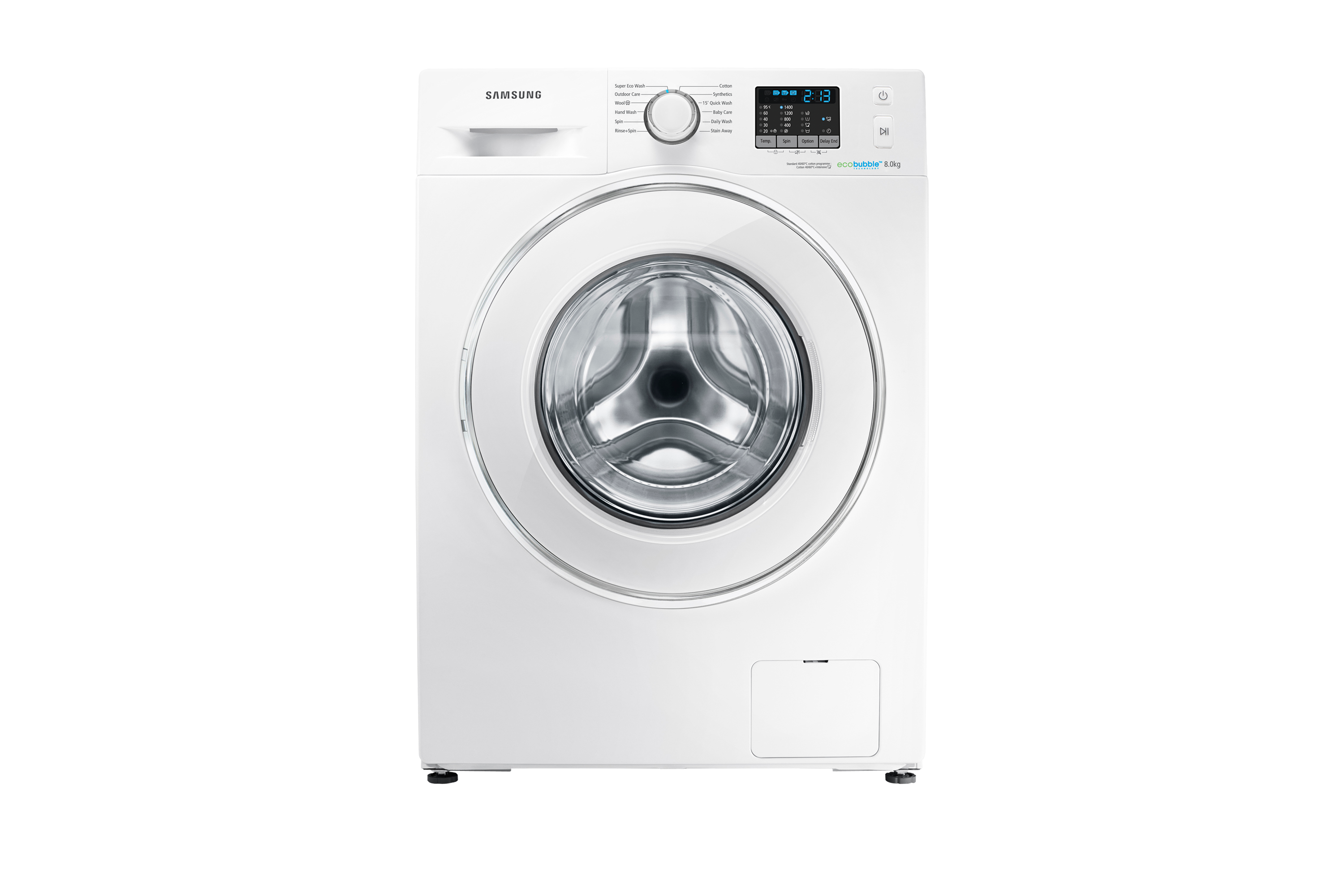 WF80F5E2W4W 8kg 1400rpm ecobubble™ Washing Machine