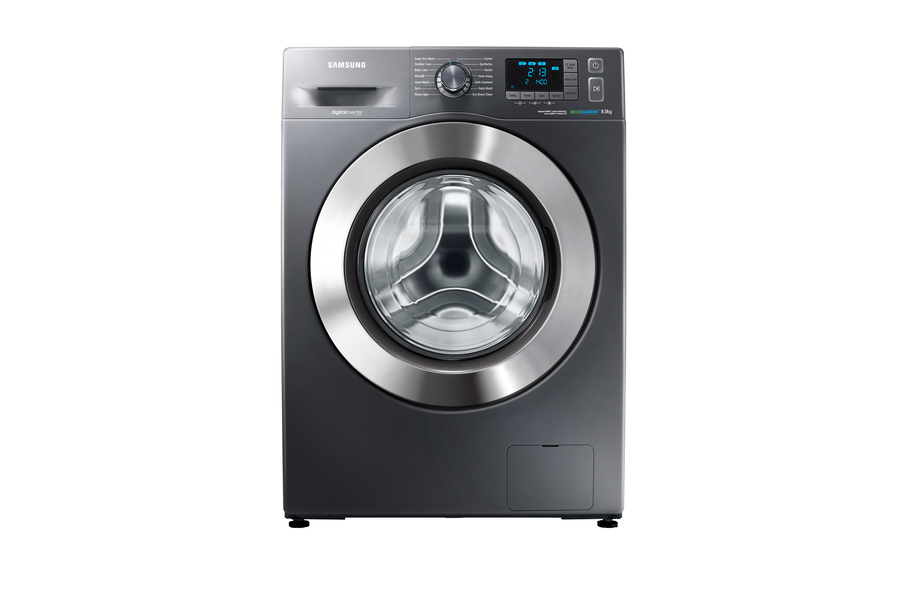 F500 Washing Machine with ecobubble, 8 kg