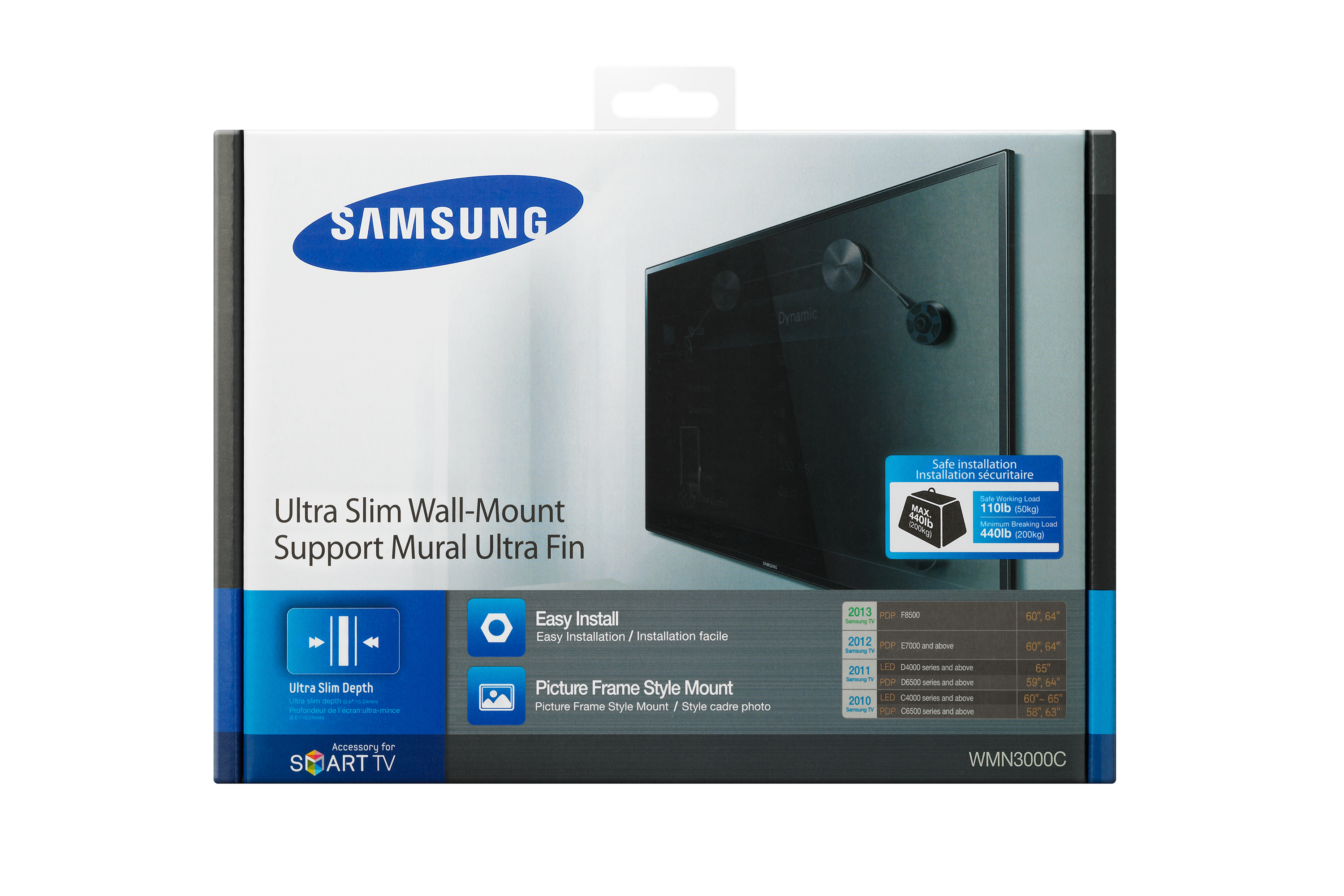 WMN3000BX Ultra-slim TV Wall Mount / Bracket