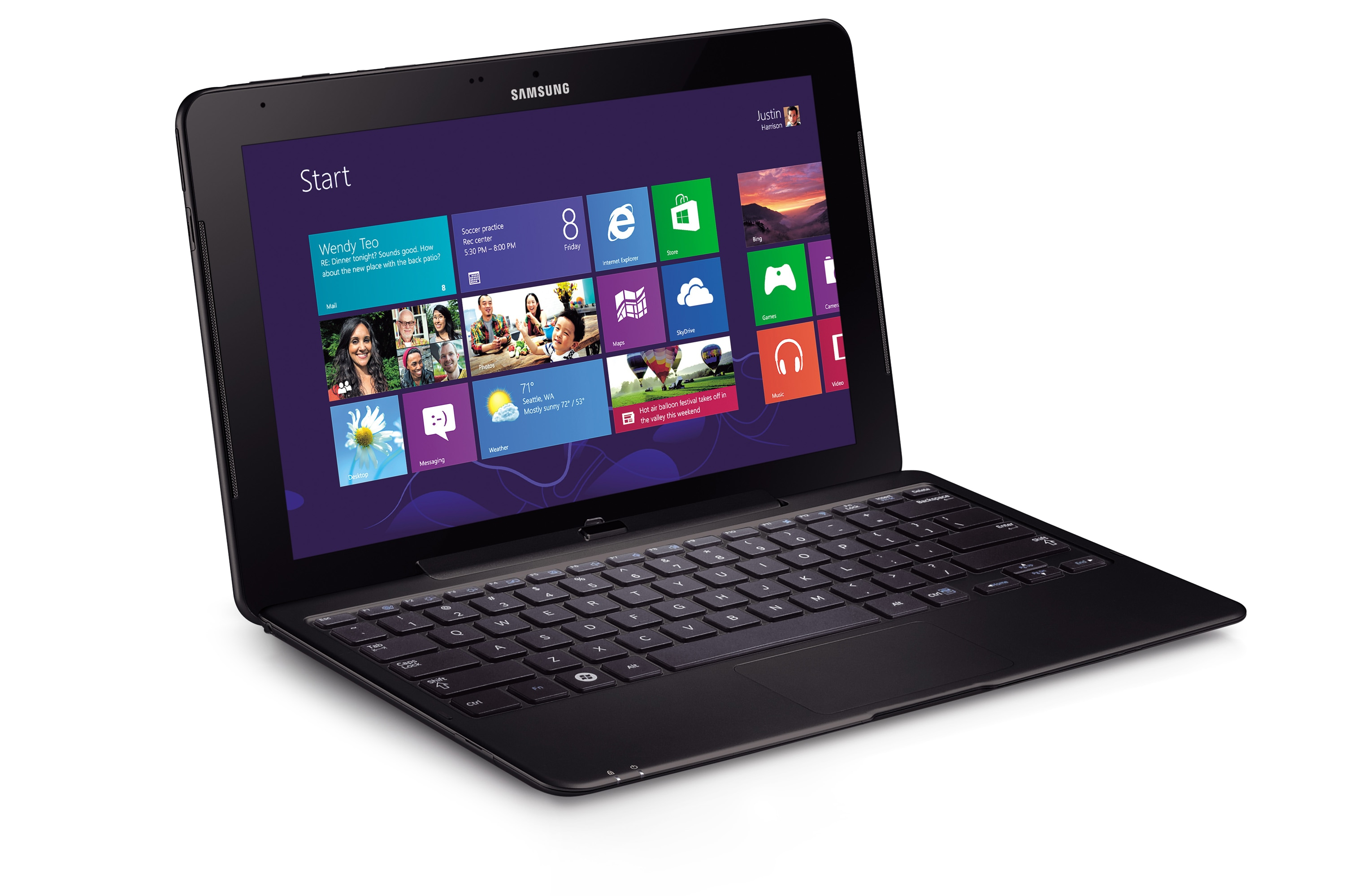 11.6 ATIV Smart PC Pro 128GB SSD (WiFi) XE700T1C