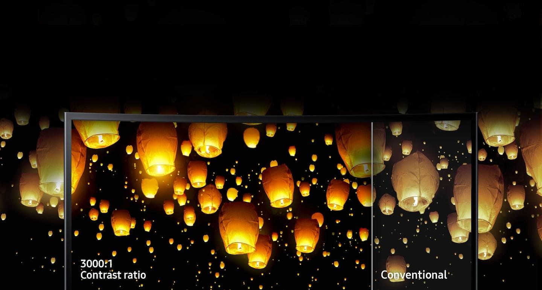 Hình Ảnh Hoàn Hảo với Công Nghệ Màn Hình Cao Cấp của Samsung