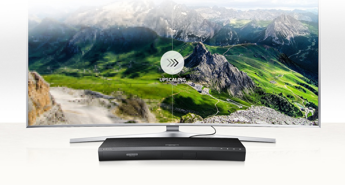 Blu-ray player UBD-K8500 - Real and sharp images to every