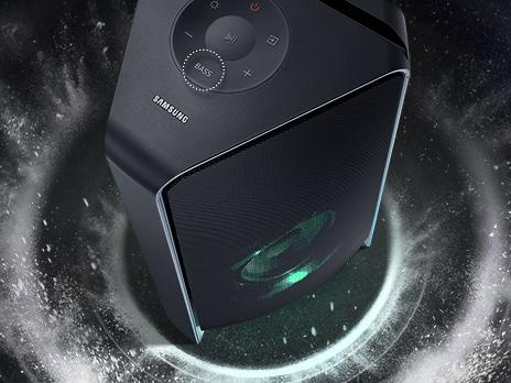 Bass Booster (High Power 500 Watts)