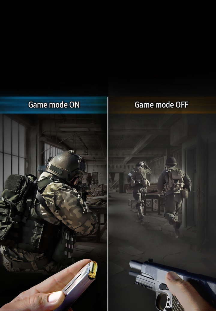 Enhanced gaming experience with Game mode