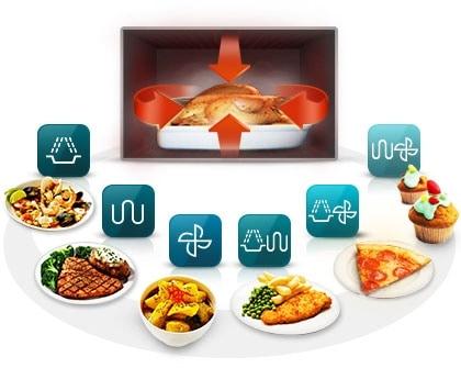 Open the oven door to more cooking possibilities