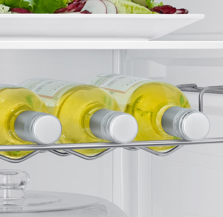 Neatly store more of your favorite wine