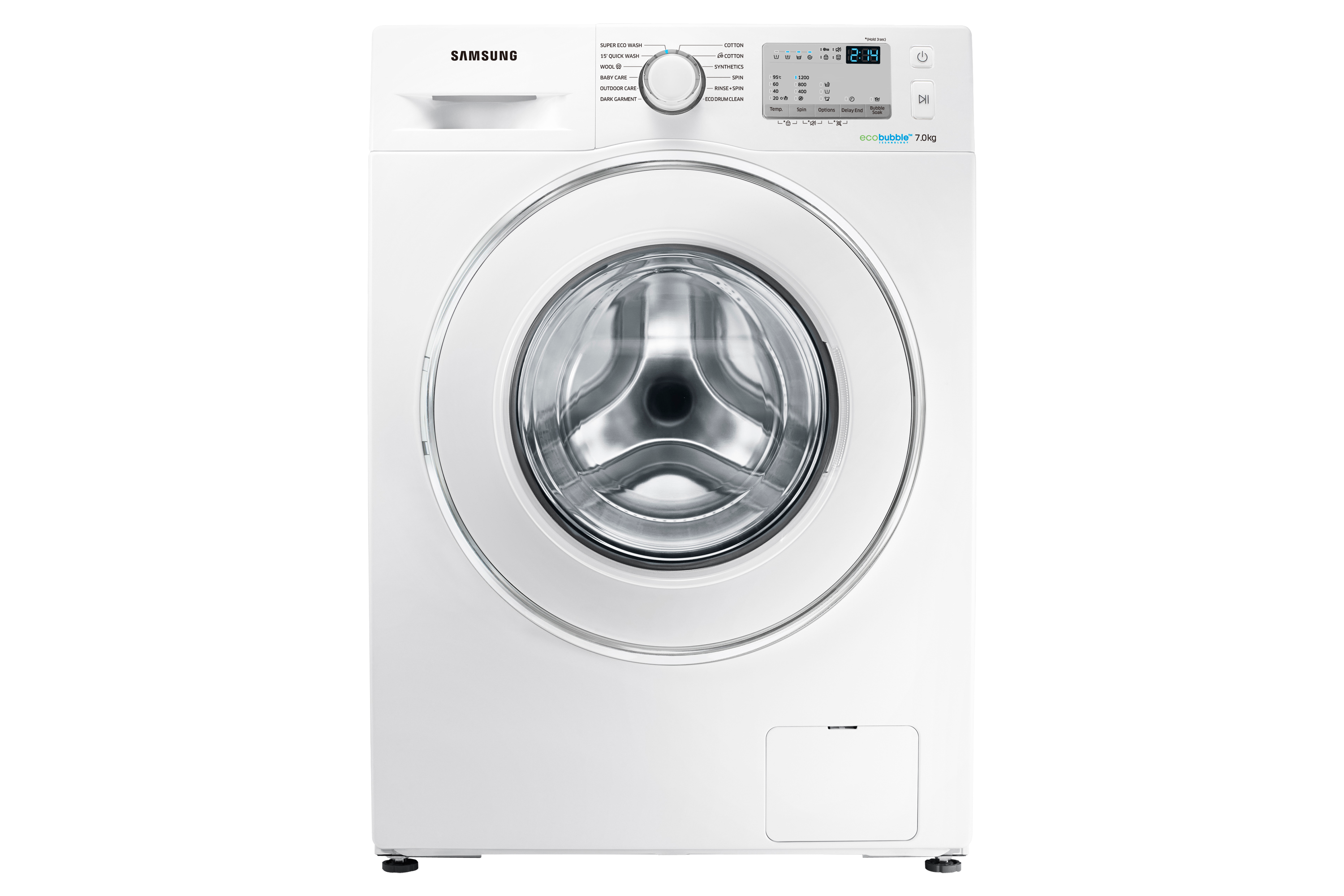 WW4000J Washer with Eco Bubble Technology, 7 kg