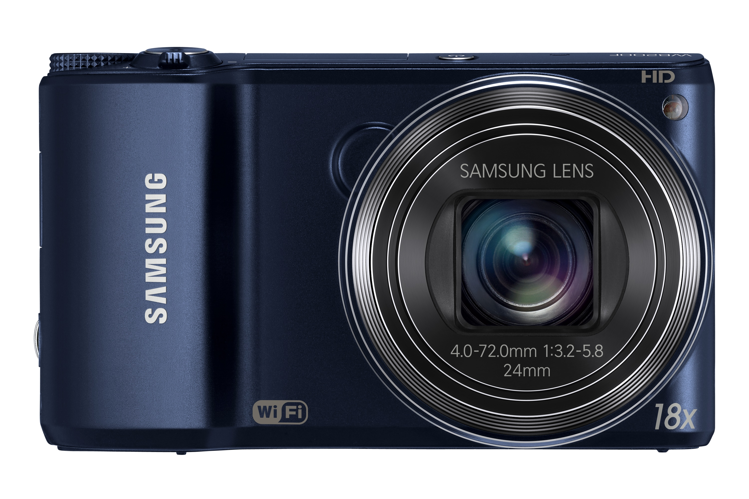 SAMSUNG WB200F Front Blue