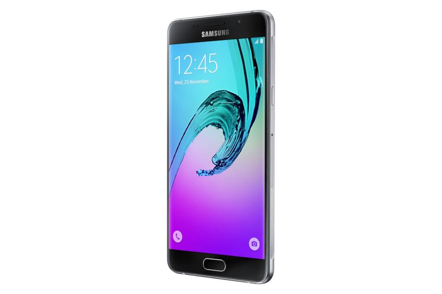 Galaxy A5 2016 (Dual Sim)   A510FD R Perspective Black