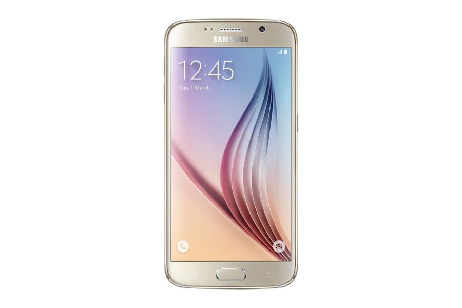 Galaxy S6 G920F Front Gold