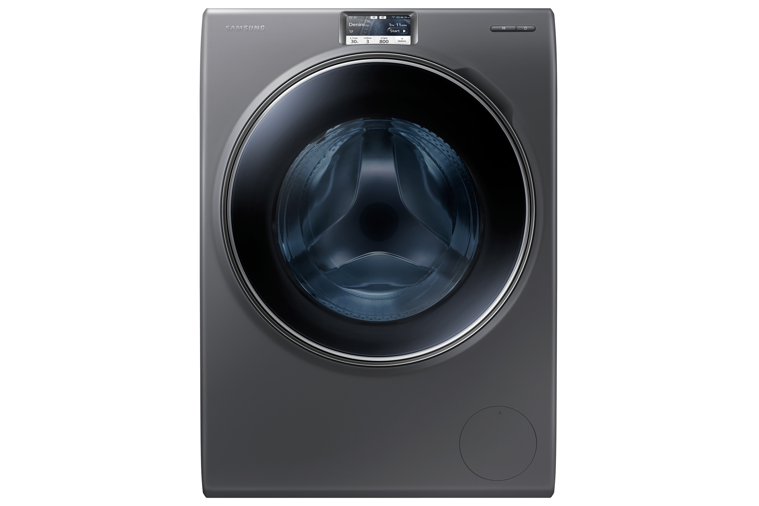 WW9000H Washer with Big Crystal Blue Door, 10 kg