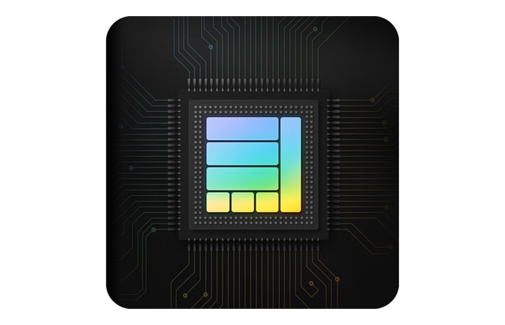 Illustration of the advanced processor inside Galaxy series phones