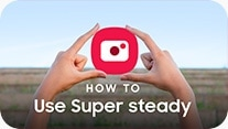 How to use Super steady video thumbnail