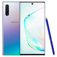 Galaxy Note10 Aura Glow Front and Back