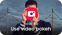 How to use Live focus video thumbnail