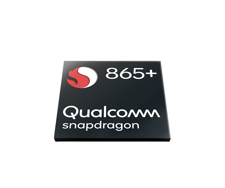 Illustration of Qualcomm Snapdragon 865 Plus chipset